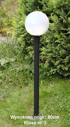 Lampa Ogrodowa 100cm Z Kloszem Nr 3 Cwp Lampy Ogrodowe Kinkiety